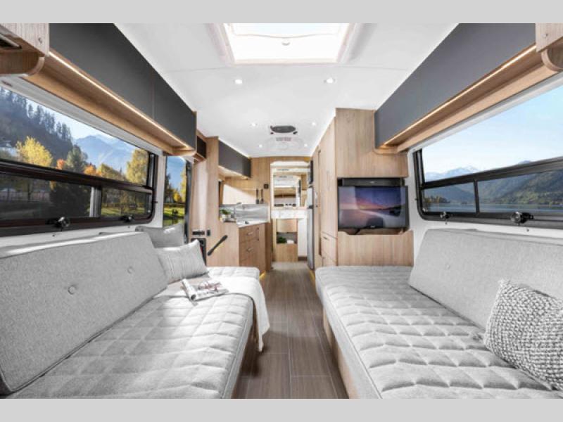 Wonder Class B+ Motorhome Review living room