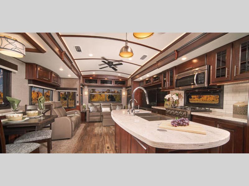 pinnacle fifth wheel kitchen